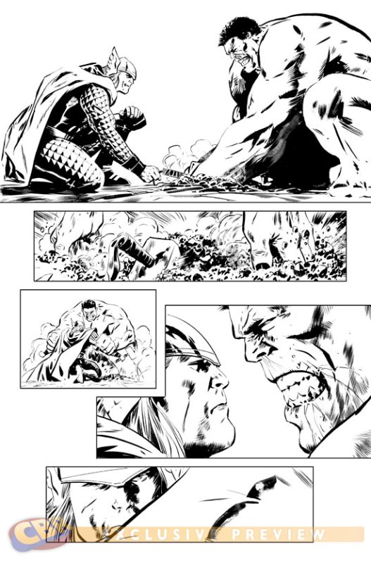 Hulk #25-29 [Cover] 1285249704.201092413271
