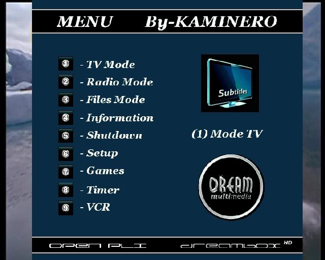OpenPLi Turko_Skin BlackGlass HD_CCcam2.0.11_MGcamd1.38_Mod KAMINERO
