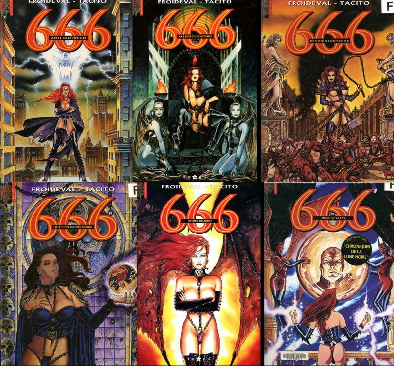 bande dessinee 666
