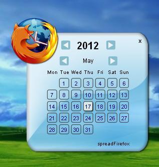 تحميل تقويم Firefox الرائع Firefox-Calendar
