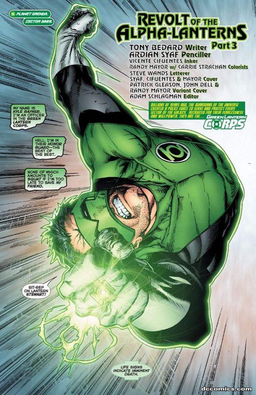 Green Lantern Corps [Série] GLC501.201072810812