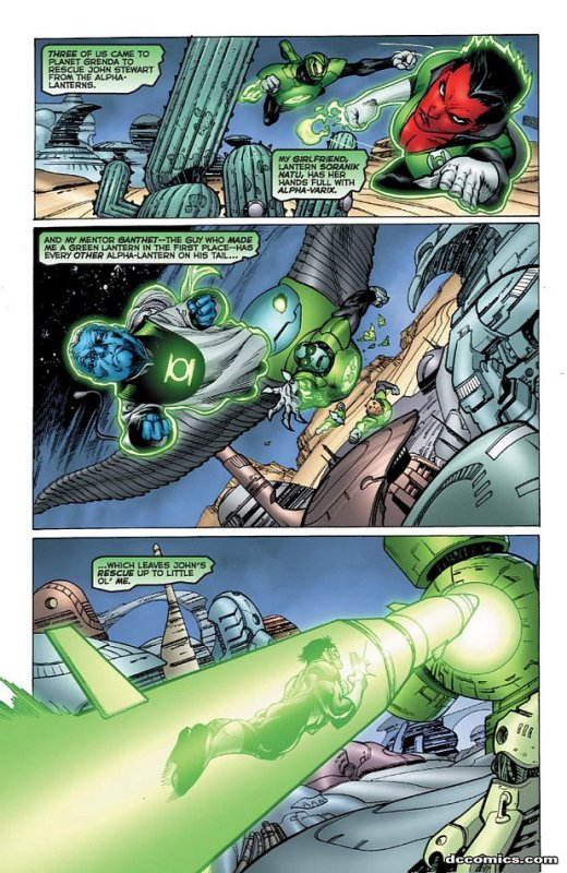 Green Lantern Corps [Série] GLC502.201072810821