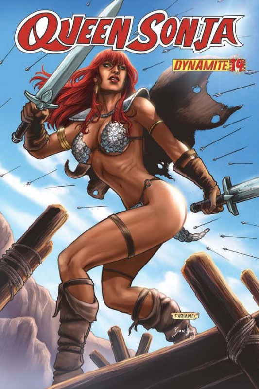 Queen Sonja / Red Sonja [Dynamite] QueenS14-cov-Neves.201082492546