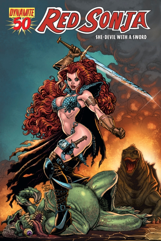 Queen Sonja / Red Sonja [Dynamite] RS50cov-Adams.201033085242