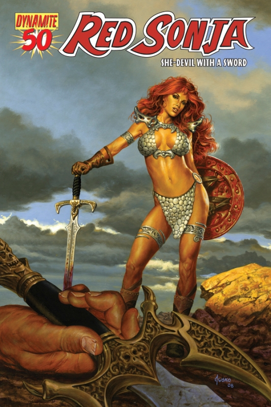 Queen Sonja / Red Sonja [Dynamite] RS50cov-Jusko.20103308535