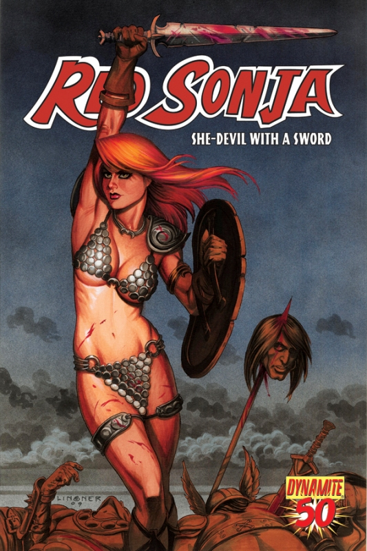Queen Sonja / Red Sonja [Dynamite] RS50cov-Linsner.20103308539
