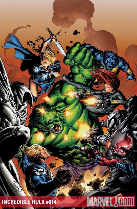 Incredible Hulks #612-617 [Cover] Incrediblehulks614.201072710178