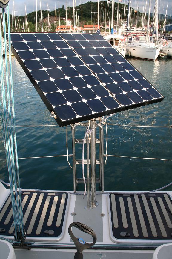 fixation panneau solaire sur tube inox forum avrm. Black Bedroom Furniture Sets. Home Design Ideas